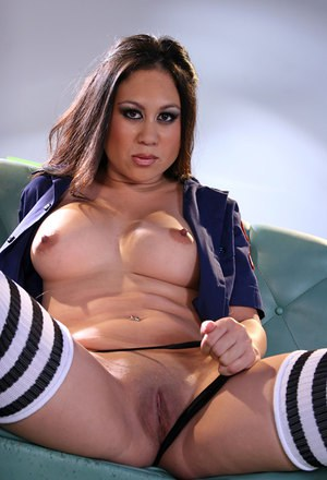 Girl with huge boobs in big gangbang adventure part 1 8
