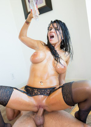 Big Oiled Tits and Huge Saggy Boobs Porn